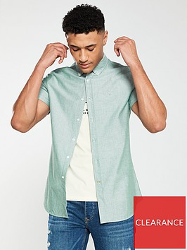 barbour-oxford-short-sleeved-shirt-green