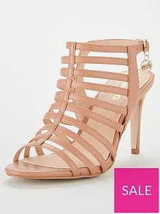 3c97c35c2f Miss KG Miss Kg Primrose Wide Fit Gladiator Heeled Sandal