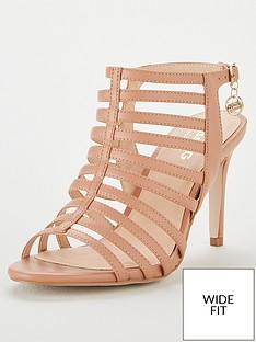 8a6d7dc5cff1 Miss KG Miss Kg Primrose Wide Fit Gladiator Heeled Sandal