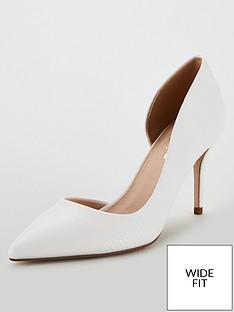 c9724ef4476a Miss KG Celia Wide Fit Court Shoes - White