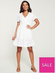 v-by-very-broderie-flippy-hem-dress-white