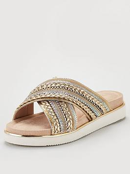 carvela-carvela-special-sole-bling-x-strap-flat-sandal