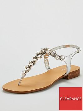 carvela-blingnbspflip-flops-silver