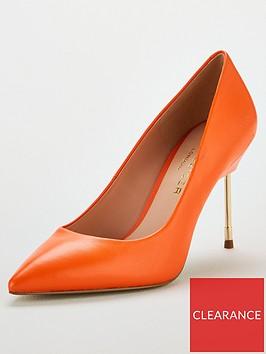 kurt-geiger-london-britton-90-heeled-court-shoe-orange