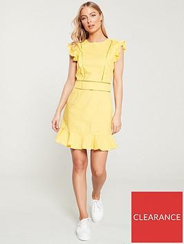 v-by-very-ladder-trim-linen-flippynbspdress-yellow