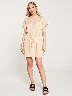v-by-very-button-through-tie-waist-tunic-dress-natural