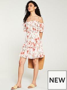 v-by-very-printed-bardot-mini-dress-floral