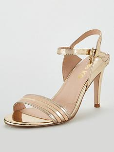 2a0572b9c46 Miss KG Pippy Metallic Heeled Sandal