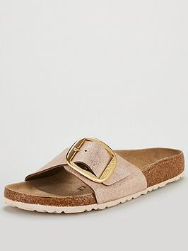 birkenstock-narrow-fit-madrid-big-buckle-flat-sandals-metallic