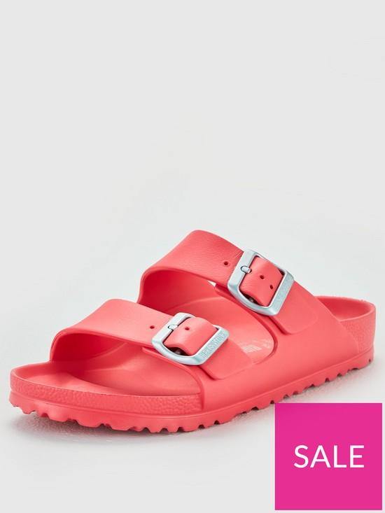 4e41682deb7a3 Birkenstock Arizona Lightweight EVA Fit Flat Sandals - Coral | very ...