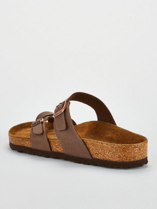 fddfae273f6 ... Birkenstock Mayari Crossover Thong Strap Flat Sandal Shoes - Mocha. 5  people have looked at this in the last couple of hrs.