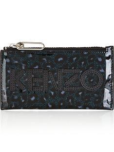 kenzo-glitter-leopard-print-zip-top-card-holdernbsp-nbspgreyblack