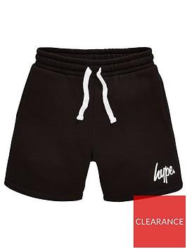 hype-boys-core-script-jog-shorts-black