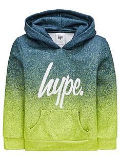 584aff334ef3a0 Hype Boys Neon Fade Overhead Hoodie - Green