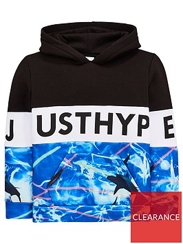hype-boys-shark-panel-overheadnbsphoodienbsp--blue