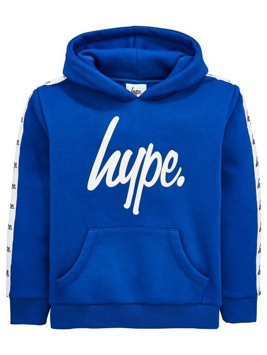 f085beb1ee6f Hype Boys Taped Overhead Hoodie - Blue | very.co.uk
