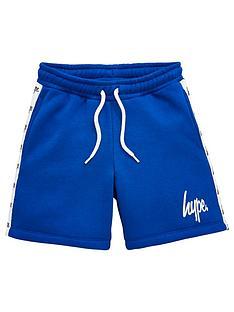 hype-boys-taped-jog-shorts-blue