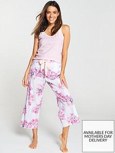 joules-felicity-culotte-pyjama-bottoms-blue-stripe-floral