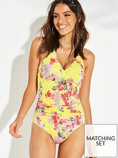 joules-meredith-wrap-swimsuit-lemon