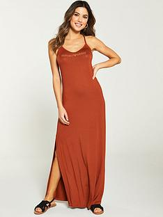 emporio-armani-resort-basics-long-beach-dress-bronze