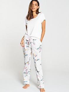 joules-snooze-woven-pyjama-bottom-with-lace-detail-cream-floral