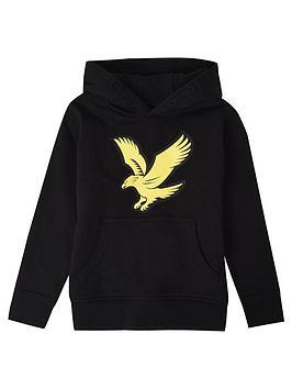 lyle-scott-boys-logo-hoodienbsp--black