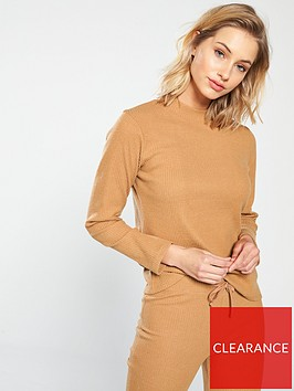 v-by-very-ribbed-co-ord-top-camelnbsp