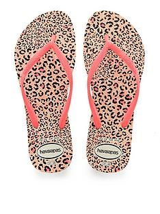 70ad0be960f9 Havaianas Slim Animals Flip Flop