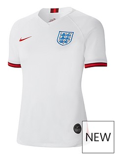 00bb8c5cef4b43 Nike Nike Women s England 19 20 Home Short Sleeved Shirt