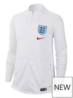 3855fa032f1 Nike Womens England Anthem Jacket - White