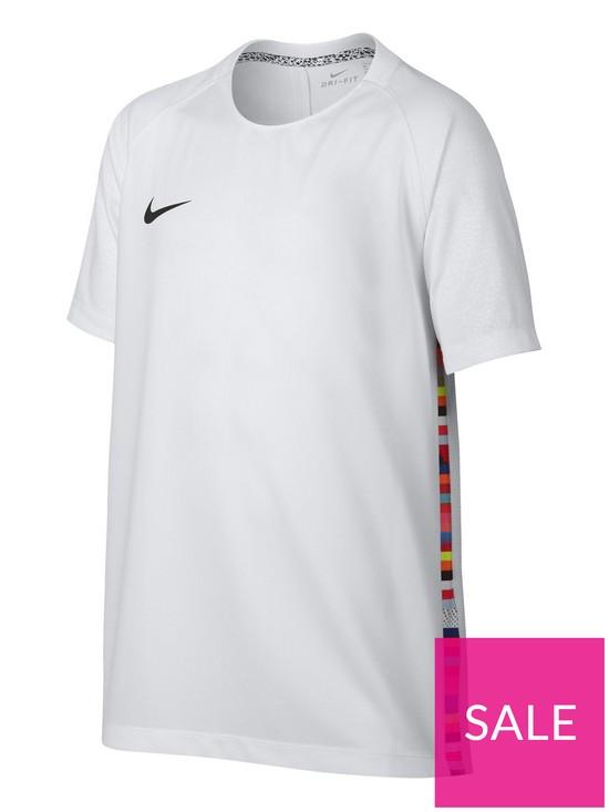 9379a732b04 Nike Youth CR7 Dry Training T-Shirt - White | very.co.uk