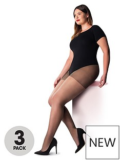 pretty-polly-3-pack-curve-ladder-resist-15-denier-tights-sherry