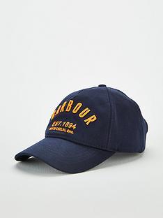 barbour-prep-logo-sports-cap-navy