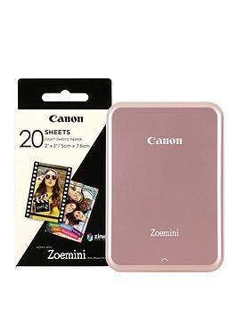 Canon Zoemini Slim Body Pocket Sized Photo Printer - +60 Prints