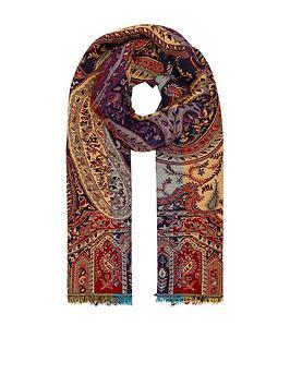 monsoon-hazel-heavyweight-jacquard-blanket-scarf-navy