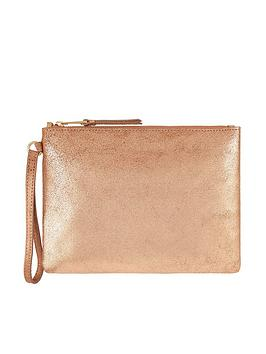 monsoon-martha-metallic-leather-pouch-bag-gold