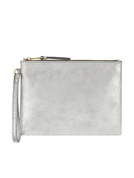 monsoon-martha-metallic-leather-pouch-bag-silvernbsp