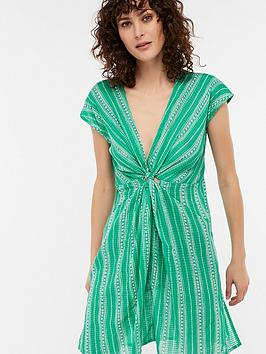 monsoon-jade-longline-knot-front-cotton-beach-kaftannbsp--green