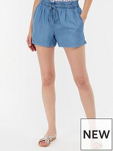 monsoon-darianbspdrawstring-waist-short-blue