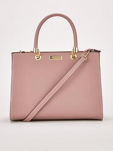 Carvela Darla Comb Structured Tote Bag - Pink b1f41cf309500