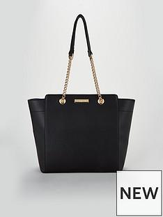 carvela-chain-tote-bag-black