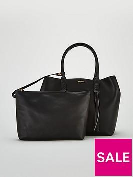 carvela-selena-plait-front-tote-bag-black