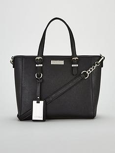 308cfa71ce4076 Carvela Danna2 Medium Winged Tote Bag - Black