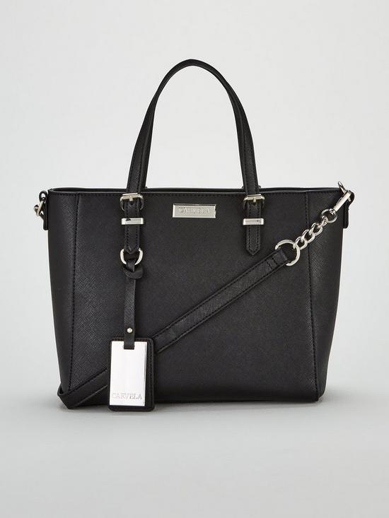 07420ea677 Carvela Danna2 Medium Winged Tote Bag - Black