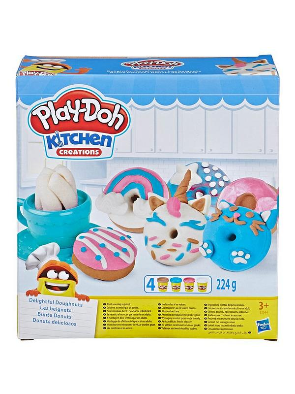 Kitchen Creations Delightful Donuts Set With 4 Colours