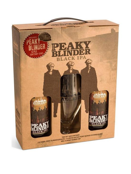 706dbd74 Peaky Blinders Ale Gift Set with Gatsby Style Cap | very.co.uk