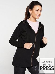 michelle-keegan-longline-zip-through-hoodienbsp--black