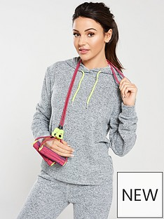 michelle-keegan-brushed-hoodienbspwith-neon-trim-grey-marl