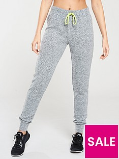 michelle-keegan-brushed-jogger-with-neon-trim-grey-marl