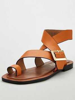 office-serenity-buckle-flat-sandal